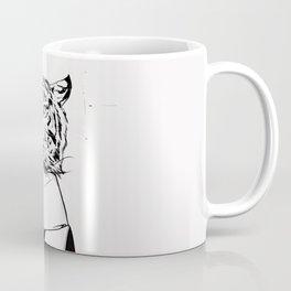 Tigress with scarf Coffee Mug