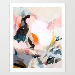 apricot dawn Art Print