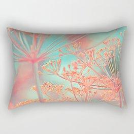 Floral abstract (80) Rectangular Pillow