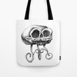 MANTLE skull Tote Bag
