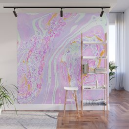 Marble Pastel Pink Wall Mural
