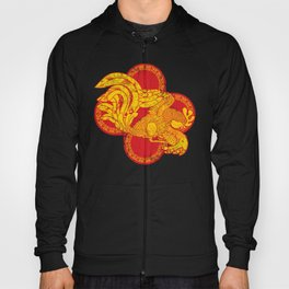 Rooster fire Hoody