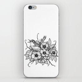 Wren bouquet iPhone Skin