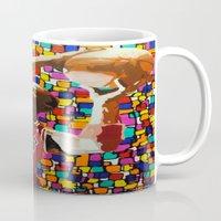 air jordan Mugs featuring Jordan by CjosephART