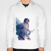 dave grohl Hoodies featuring Dave Grohl by Daniel Cisneros