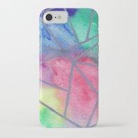 tie dye iPhone & iPod Cases featuring Tie dye by Bridget Davidson
