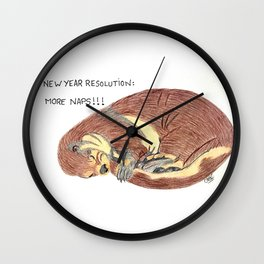 More naps Wall Clock