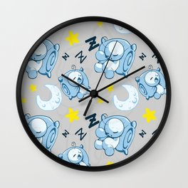 Cryaotic Pj Pants Design Wall Clock