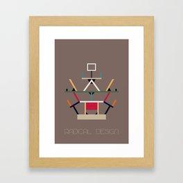 Radical Design Framed Art Print