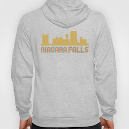 Vintage Style Niagara Falls New York Skyline Hoody