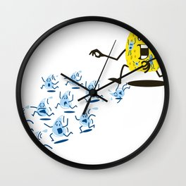 Sponge Attack! Wall Clock