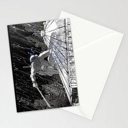 Black and White Ninja Turtle Leonardo Stationery Cards