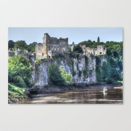 Chepstow Castle Canvas Print