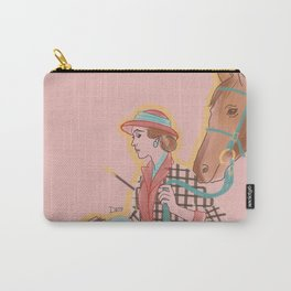 Woman with Horse #1 Carry-All Pouch