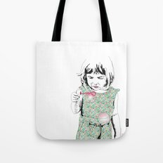 BubbleGirl Tote Bag