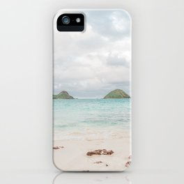 The Mokes at Lanikai Beach iPhone Case