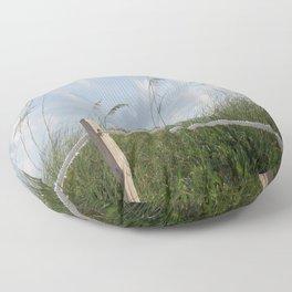 Sea Oat Garden Floor Pillow