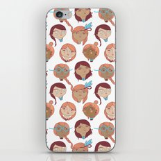 Pattern Project #22 / Girl Gang iPhone & iPod Skin
