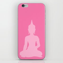 Pink Buddha iPhone Skin