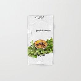 La Cuisine Fusion - Pastel de Nata Salad Hand & Bath Towel