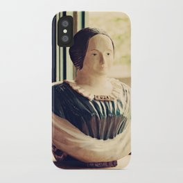 Woman in a Window iPhone Case