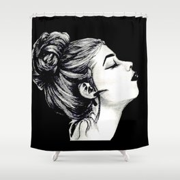 Head High Shower Curtain