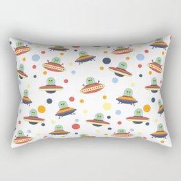 UFO Neck Gator Alien Spaceship Rectangular Pillow
