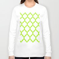moroccan Long Sleeve T-shirts featuring Moroccan #5 by Saundra Myles