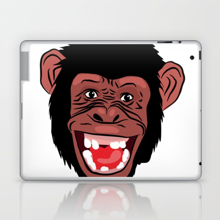 funny  facecharacter Laptop & iPad Skin