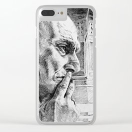 Man From Sarajevo Clear iPhone Case