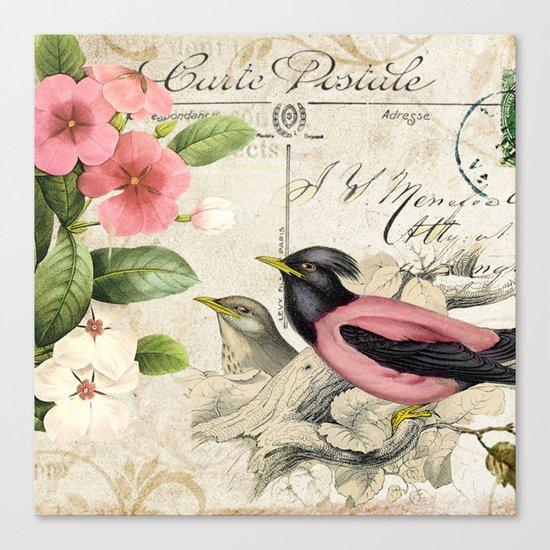 Sweet birds #6 Canvas Print