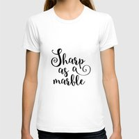 marble T-shirts featuring Marble by melonweed