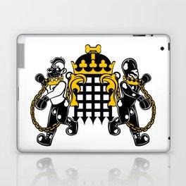 Crest of Dog Laptop & iPad Skin