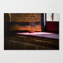 Sunlight in the Temple of The Reclining Buddha Canvas Print
