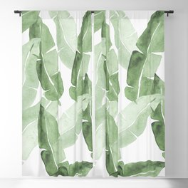 Tropical Leaves 2 Blackout Curtain