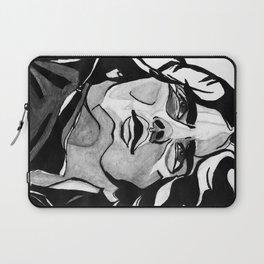 Mann Portrait  Laptop Sleeve