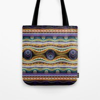 stripe Tote Bags featuring stripe by Antracit
