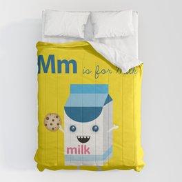 M is for Milk Comforters
