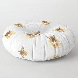 Hamster Portrait Floor Pillow