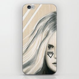 Beach Tribe Five - Gypsy Soul Searching Woman iPhone Skin