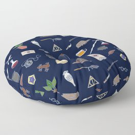 Harry Pattern Night Floor Pillow