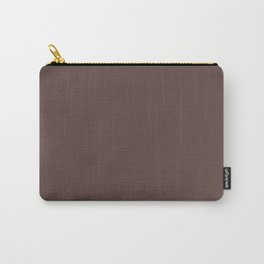 Washed-up ~ Kobicha Brown Carry-All Pouch