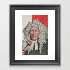 Dragon Court Framed Art Print