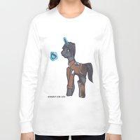 levi Long Sleeve T-shirts featuring Levi Ackerman by Midnight Zoe