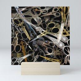Vintage Scissors Mini Art Print