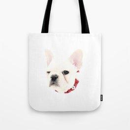 Winking French Bulldog Tote Bag