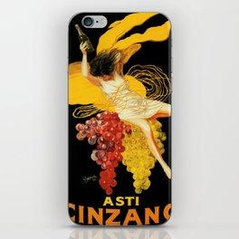 Vintage poster - Asti Cinzano iPhone Skin