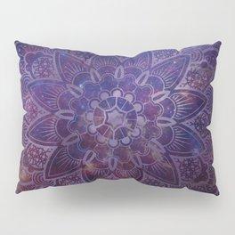 Ultraviolet Mandala Pillow Sham