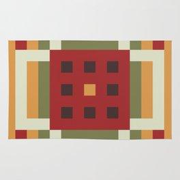 Autumn Symmetry Rug