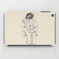 otter iPad Cases featuring Otter by Federica Fragapane